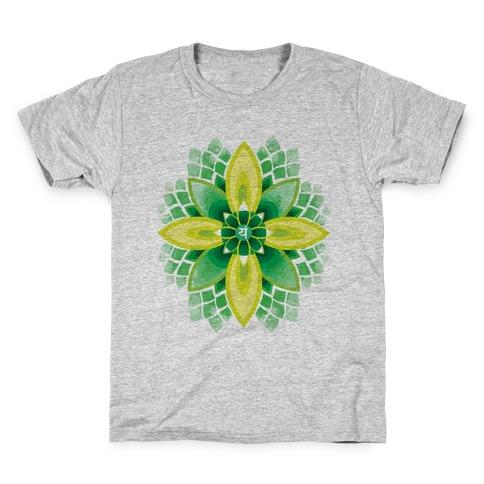 Anahata, The Heart Chakra Kids T-Shirt