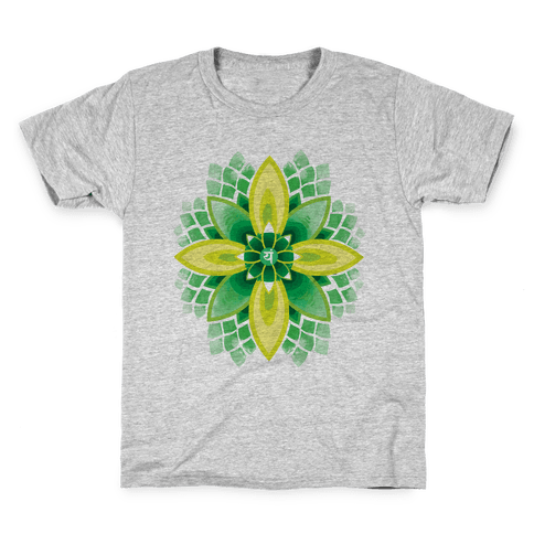 Anahata, The Heart Chakra Kids T-Shirt