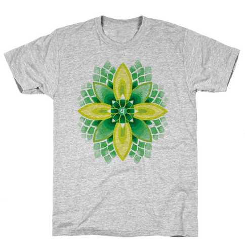 Anahata, The Heart Chakra Mens T-Shirt