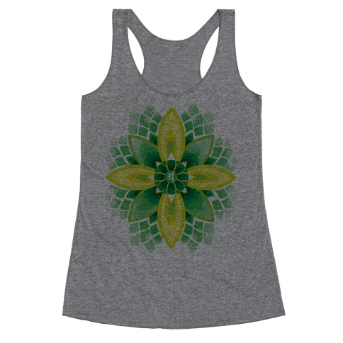 Anahata, The Heart Chakra Racerback Tank Top
