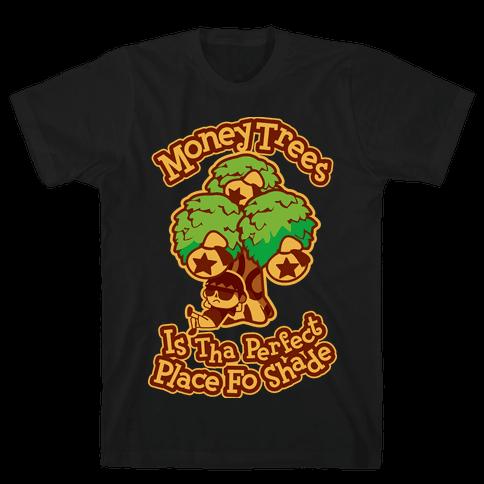 Bell Tree (Shade) Mens T-Shirt