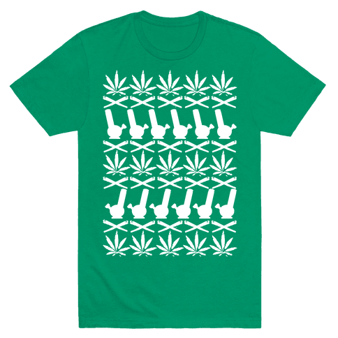 Pot Sweater Mens T-Shirt