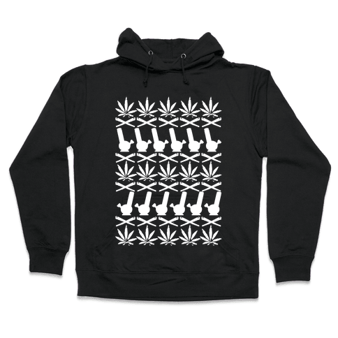 Pot Sweater Hooded Sweatshirt