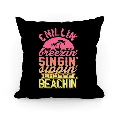 Beachin' Pillow