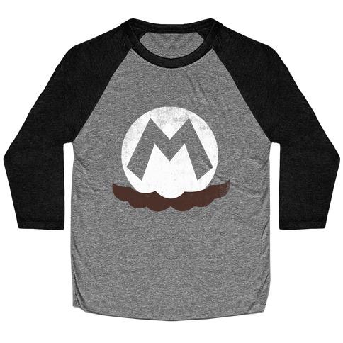 Mario Baseball Tee