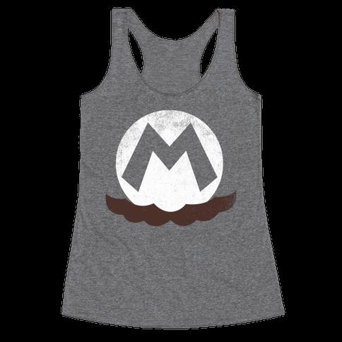 Mario Racerback Tank Top
