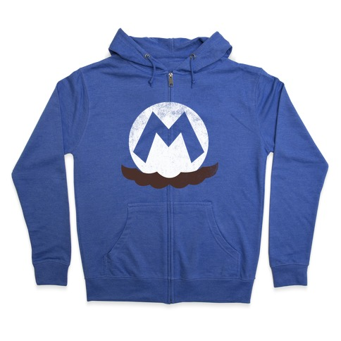 Mario Zip Hoodie