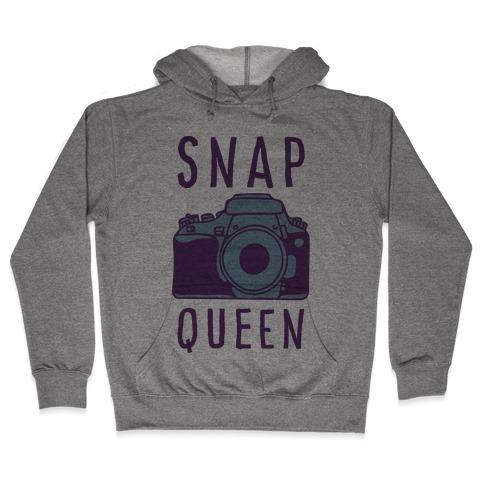 Snap Queen Hooded Sweatshirt