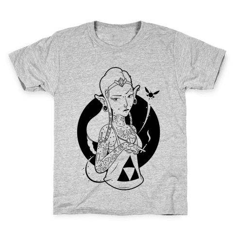 Punk Zelda Parody Kids T-Shirt