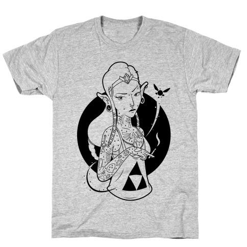 Punk Zelda Parody T-Shirt