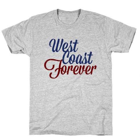 West Coast Forever Mens T-Shirt