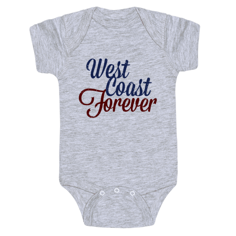 West Coast Forever Baby Onesy