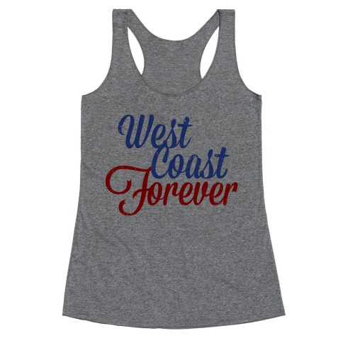 West Coast Forever Racerback Tank Top