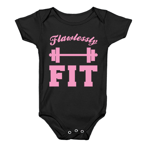 Flawlessly Fit Baby Onesy