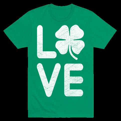 Irish Love Mens T-Shirt