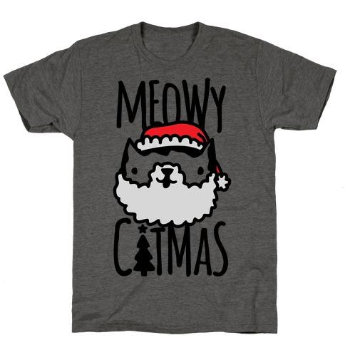 Meowy Catmas T-Shirt