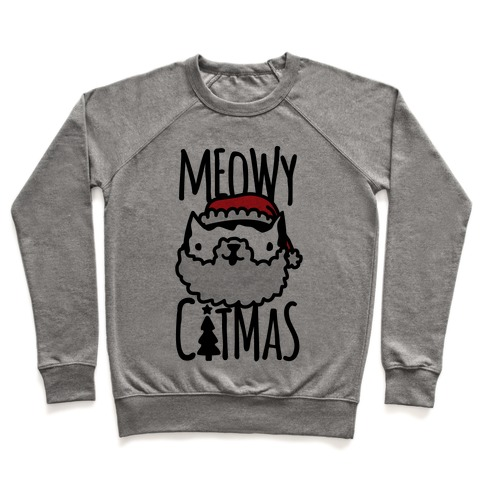 Meowy Catmas Pullover
