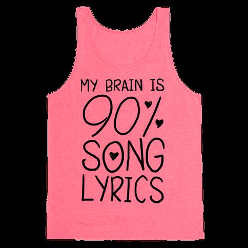 90% Song Lyrics