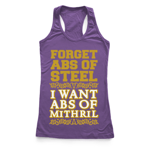 I Want Abs of Mithril
