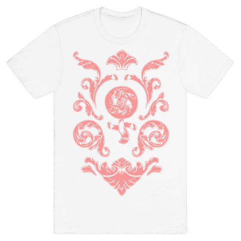 Female Toile Mens T-Shirt