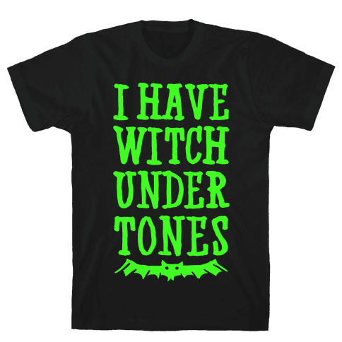 Witch Undertones Mens T-Shirt