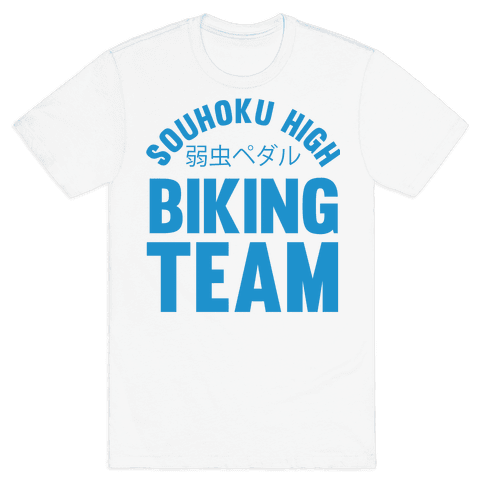 Souhoku High Biking Team Mens T-Shirt