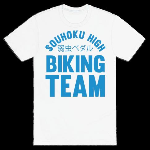 Souhoku High Biking Team Mens T-Shirt