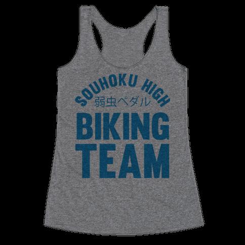 Souhoku High Biking Team Racerback Tank Top