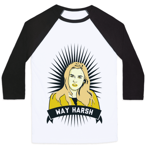 Cher Way Harsh Baseball Tee