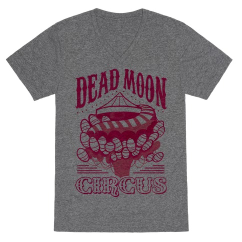 Dead Moon Circus V-Neck Tee Shirt