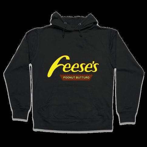 Feces Pieces Hooded Sweatshirt