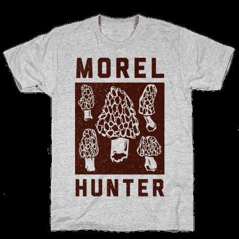 Morel Hunter Mens T-Shirt