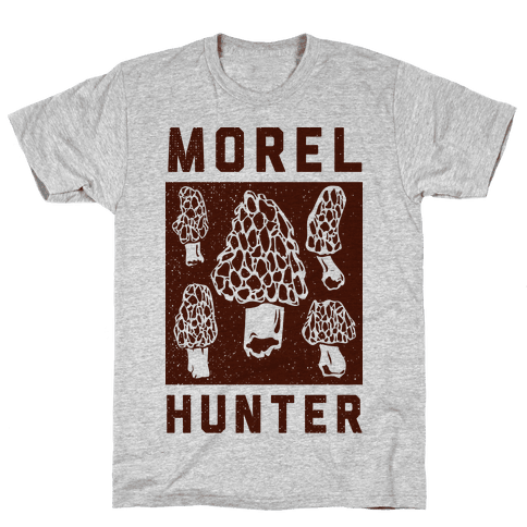 Morel Hunter Mens T-Shirt