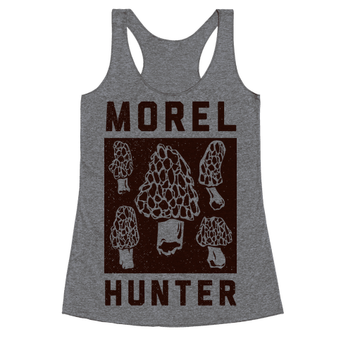 Morel Hunter Racerback Tank Top