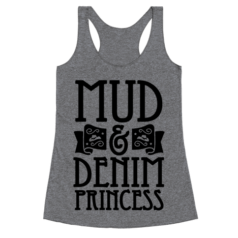 Mud & Denim Princess Racerback Tank Top