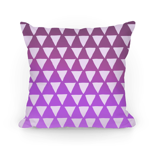 Triangle Purple Ombre Pattern