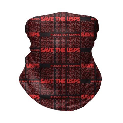 Save The USPS Thank You Bag Style Neck Gaiter