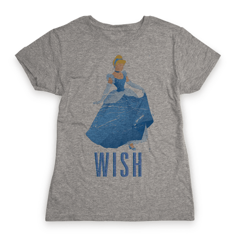 Wish Princess Womens T-Shirt