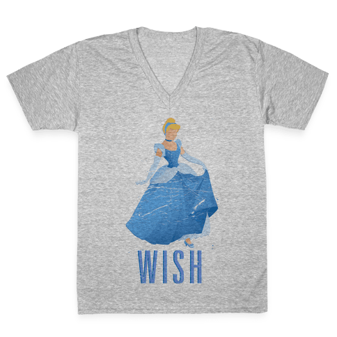 Wish Princess V-Neck Tee Shirt