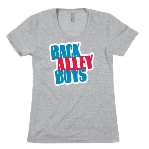 Back Alley Boys 2 Womens T-Shirt