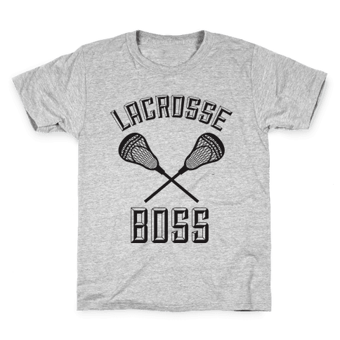 Lacrosse Boss Kids T-Shirt