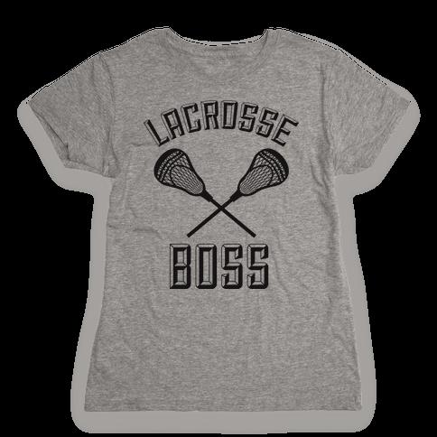 Lacrosse Boss Womens T-Shirt