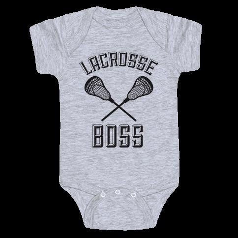 Lacrosse Boss Baby Onesy