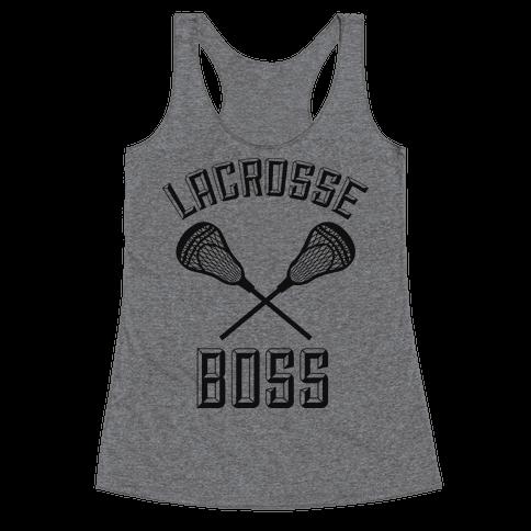 Lacrosse Boss Racerback Tank Top