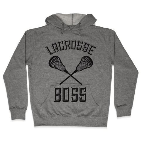 Lacrosse Boss Hooded Sweatshirt