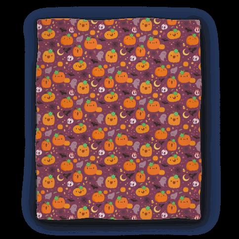 Cute 'n Spooky Halloween Blanket