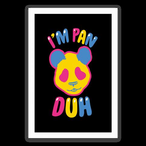 I'm Pan Duh Poster