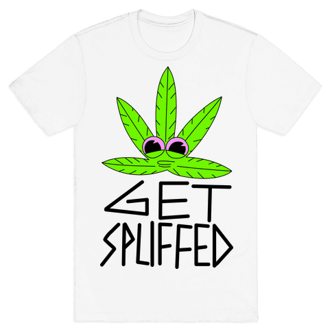 Get Spliffed Mens T-Shirt