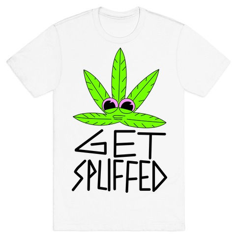 Get Spliffed Mens T-Shirt