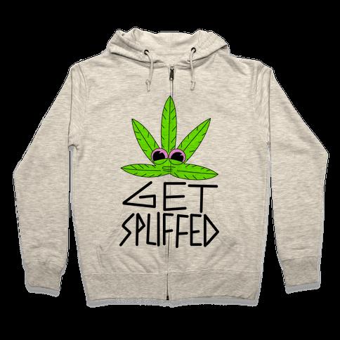 Get Spliffed Zip Hoodie